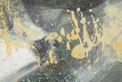 CHU Teh-Chun (1920-2014), Le 15 mai 1985, Huile sur toile Signée en bas à droite,...