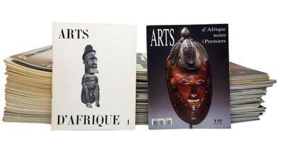 Revue ARTS d'AFRIQUE NOIRE Collection complète publiée de 1972 à 2004 : numéros 1...