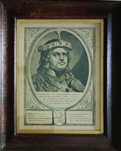 Floris II, Floris III et Wilhelmus III