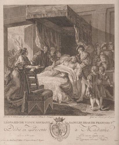 Lot de gravures XVIIIe et XIXe siècles.
