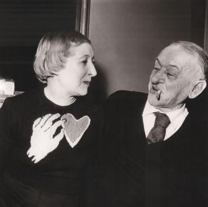 CENDRARS Blaise (1887-1961) et CENDRARS Raymone (1896-1986) VOLTA Pablo (1926-1911)