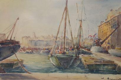 HONNORAT Jean (1888-1969)