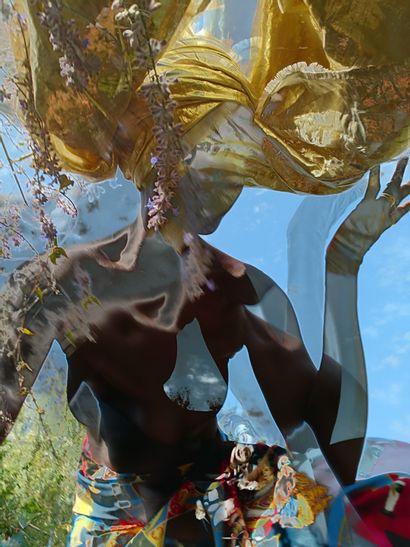 """FALL Garmy """"Infusion 4"""" Photographie d'Art numérique, encadrée et mise sous verre..."""