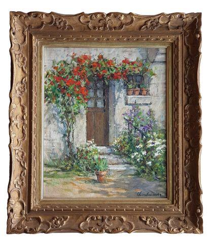 Georges HILLAIREAU (1884-1954) Bouquet de fleurs Huile sur toile c.1930, 60 x 73...