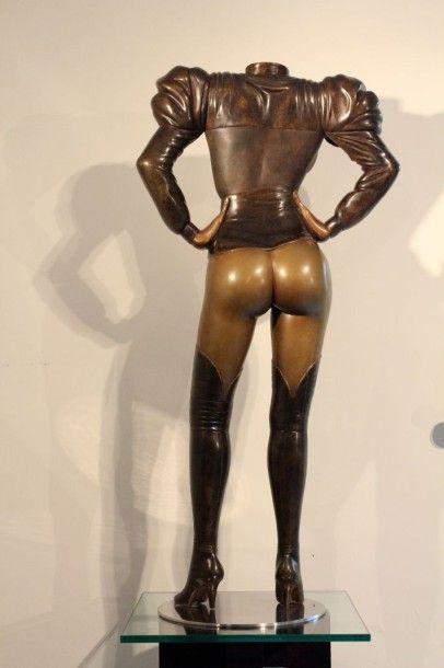 "LIPPI Michel ""Fantasm 1"" Sculpture en bronze de 2015 - Hauteur : 101cm - Fondeur..."