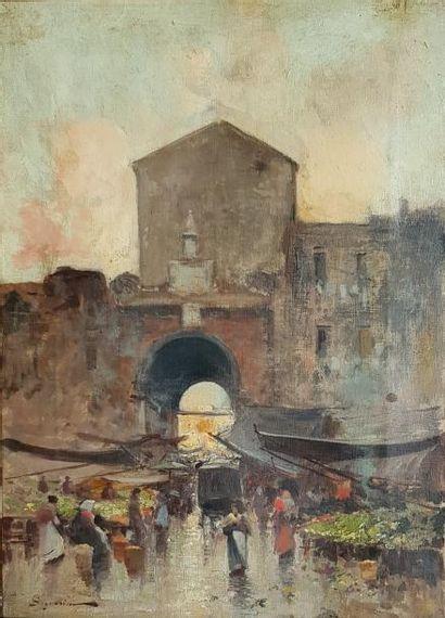 SIGNORINI Telemaco (1835-1901)