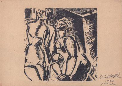 ZADKINE Ossip (1888-1967)