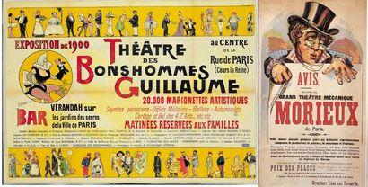 THEATRE DES BONSHOMMES GUILLAUME.