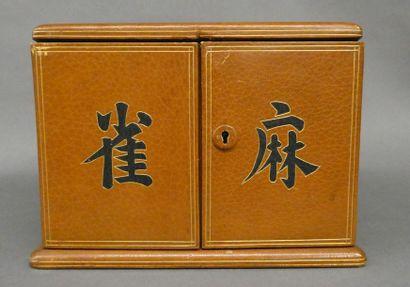 FRANCE ou INDOCHINE  Coffret à Mahjong en...