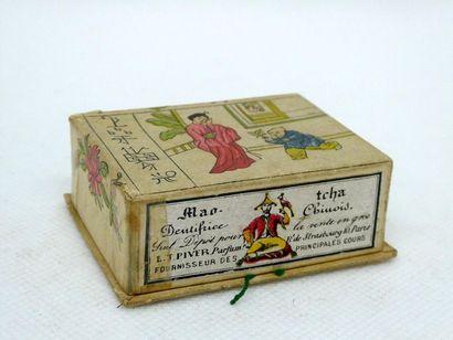 PIVER - Mao Tcha    Petite boite rectangulaire...