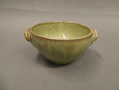 Bol à anse en porcelaine émaillé (Eclat)