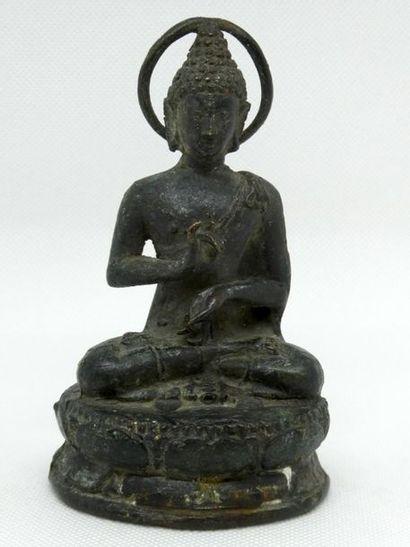 Petit Boudha bronze