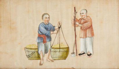 CHINE CANTON VERS 1900