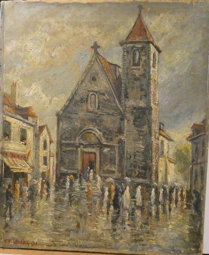 Fernand LAVAL (1886/95-1966) Premie?re communion...