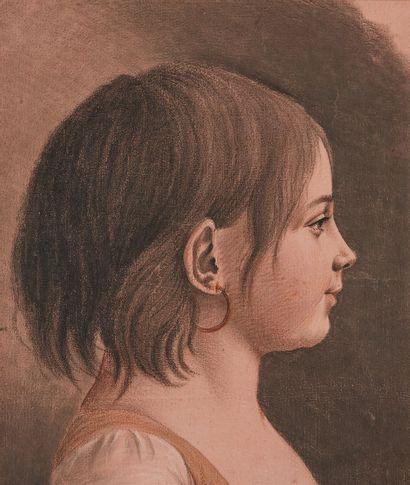 ATTRIBUÉ À JULES LÉOPOLD BOILLY (1796 - 1874)