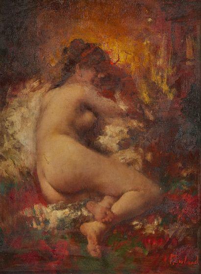 ALFRED CORNELIUS HOWLAND (1838-1909)