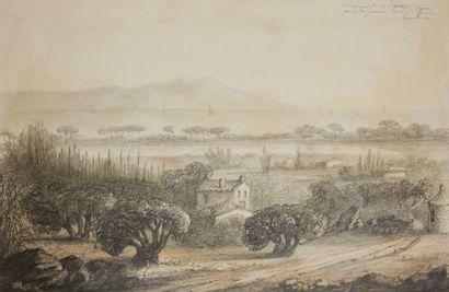 PIERRE MILLIERE (SAINT JEAN DE LOSNE 1811 - CANNES 1887)