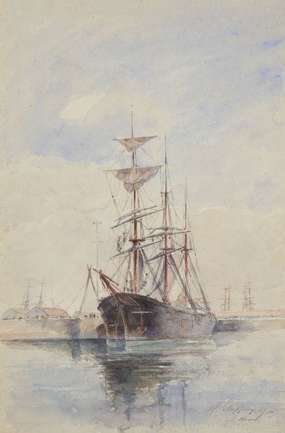 HENRI ALEXANDRE SAFFREY (1832-1895)