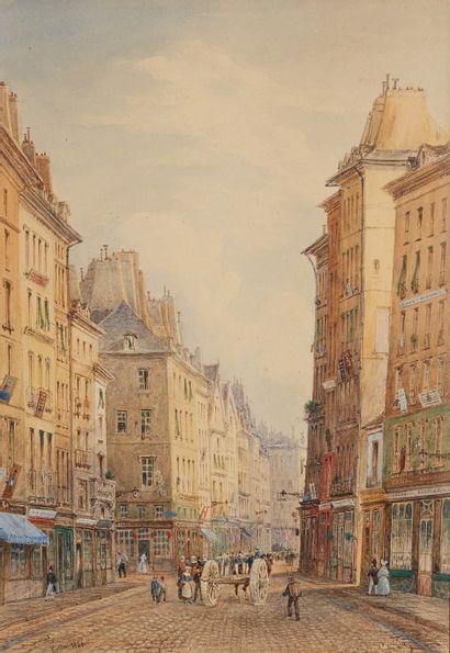 NICOLAS JOSEPH FRANÇOIS KELLIN (VERS 1789 - SAMER 1858)
