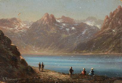HUBERT SATTLER (1817-1904), SIGNÉ L. RITSCHARD