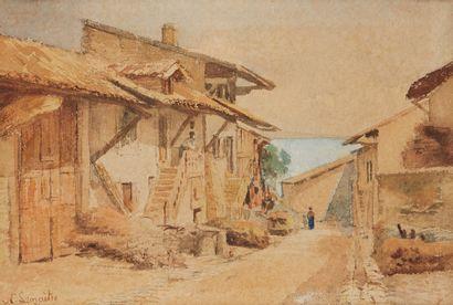 NATHANAËL LEMAITRE (LUNERAY 1831 - GENÈVE 1897)