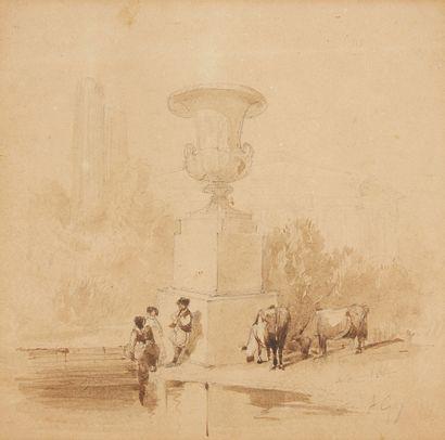 AUGUSTE GOY (MELUN 1812 - QUIMPER 1895)