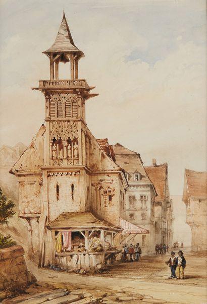 FRANÇOIS NOLAU (VERS 1804 - PARIS 1883)
