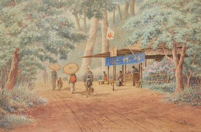 SHISEGABURO ISCHIDA (1888-1960), ATTRIBUÉ À