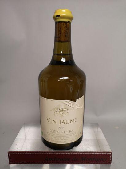 1 bouteille VIN JAUNE - Le CLOS des GRIVES...