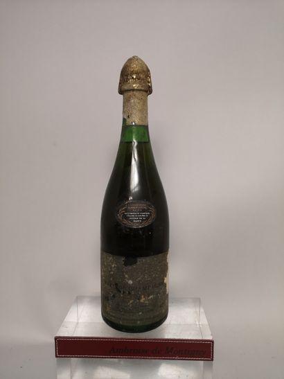 1 bouteille MARC de CHAMPAGNE - POMMERY  Etiquette...