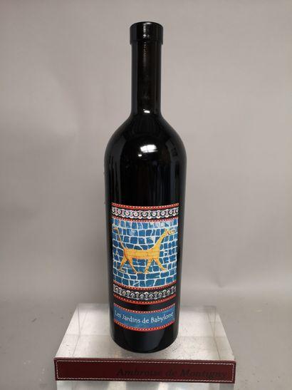 1 bouteille LES JARDINS DE BABYLONE - Domaine...