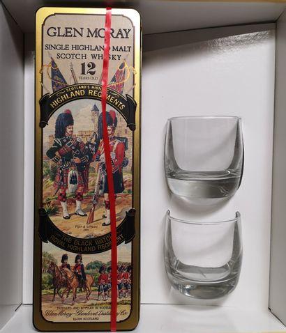 1 bouteille WHISKY - GLEN MORAY 12 ans
