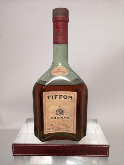 1 flacon 70 Cl COGNAC Fine Champagne - TIFFON...