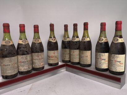 9 bouteilles VINS DIVERS DOMAINE GRIVELET...
