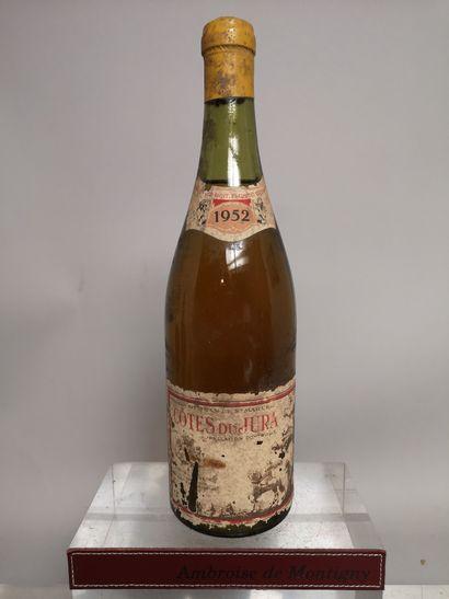 1 bouteille CÔTES du JURA - Maison DEJEAN...