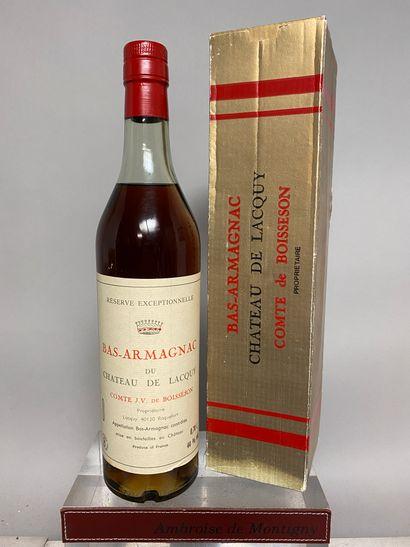 1 flacon 70 Cl BAS ARMAGNAC - Château de...
