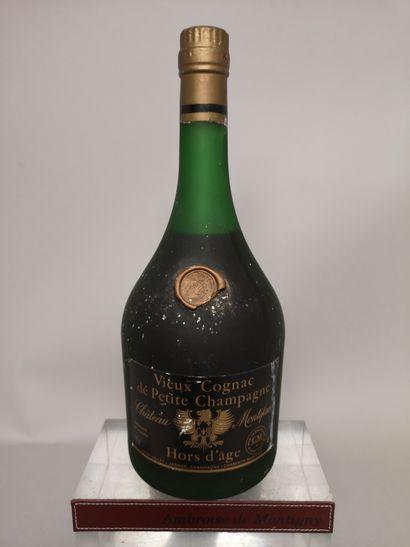1 flacon 70 Cl Vieux COGNAC de Petite Champagne...