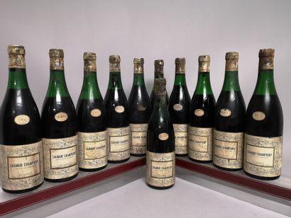 11 bouteilles SAUMUR CHAMPIGNY - Ets GOBLET...