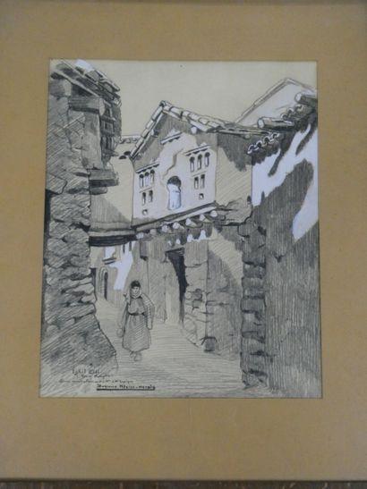 Yvonne KLEISS-HERSIS (1895-1968)  Paysanne...