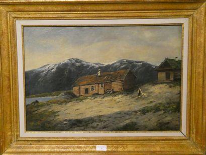 Ecole Moderne du nord  Ferme dans les montagnes...