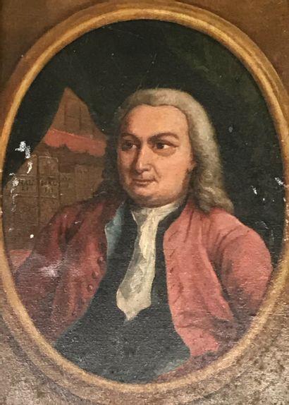 Ecole ANGLAISE de la fin du XVIIIe siècle...