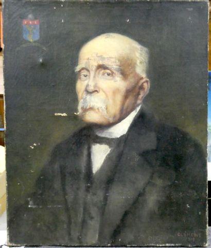 CLEMENT( Xxè siècle)  Portrait du Maréchal...