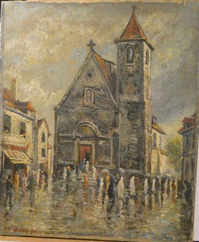 Fernand LAVAL (1886/95-1966)  Première communion...