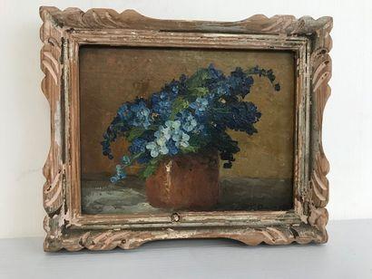 Primo DOLZAN (Actif au Xxè siècle)  Bouquet...