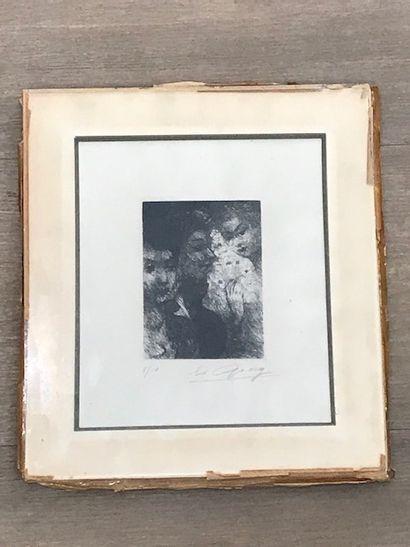 EDOUARD GOERG (1893-1969)  Personnages de...