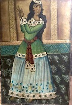 ECOLE INDIENNE DU XXème siècle Femme en...