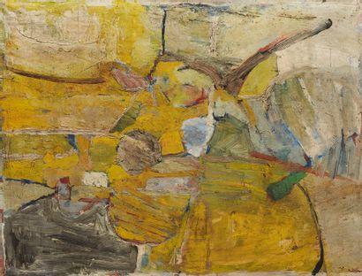 ULF TROITZIG (né en 1925)  Composition abstraite...