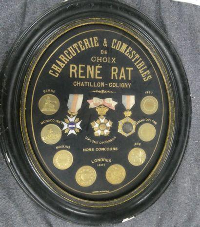 René RAT - Charcuterie et commestible de...