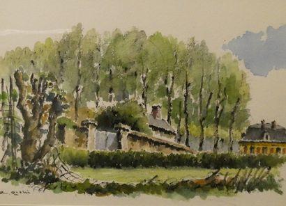 Ryota OISHI (1943)  Pavillon de la Reine...