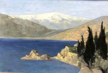 ROSE CHICOTOT STINUS (1895-1981)  La baie...